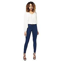 Miss Selfridge - R steffi blue super high waist