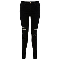 Miss Selfridge - Lizzie Multi Rip Inky Jean