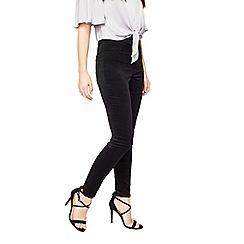 Miss Selfridge - Steffi black velvet trouser