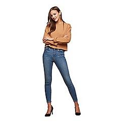 Miss Selfridge - Blue cast lizzie jeans