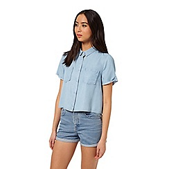 Miss Selfridge - Boxy shirt