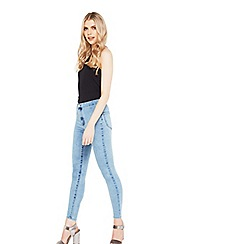 Miss Selfridge - Steffi acid blue jeans