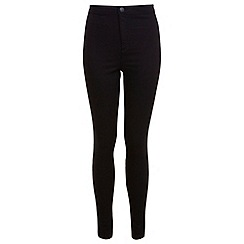 Miss Selfridge - Regular black super high waist