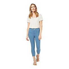 Miss Selfridge - Steffi blue cropped jean