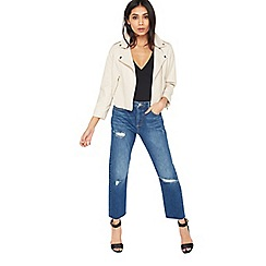 Miss Selfridge - Steffi light blue jeans