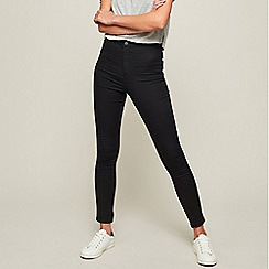 Miss Selfridge - Black steffi super high waist