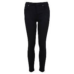 Miss Selfridge - Short black sophia ultra soft jean