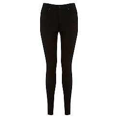 Miss Selfridge - Long black ultra soft jean