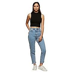 Miss Selfridge - Embellished rip mom jeans