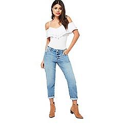 Miss Selfridge - Seam slim boyfriend jeans
