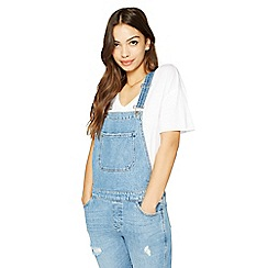Miss Selfridge - Turn down hem dungaree