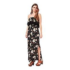 Miss Selfridge - K:printed bandeau maxi dress