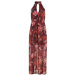 Miss Selfridge - Floral printed maxi dress