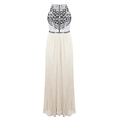 Miss Selfridge - Embellished pleated maxi dress