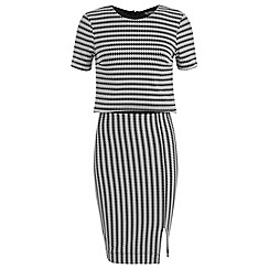 Miss Selfridge - Double layer pencil dress