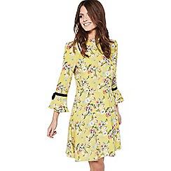 Miss Selfridge - Printed collar tea dress