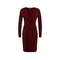 Miss Selfridge - Knot front dress
