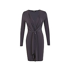 Miss Selfridge - Knot front dress