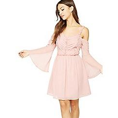 Miss Selfridge - Pleat ruffle dress