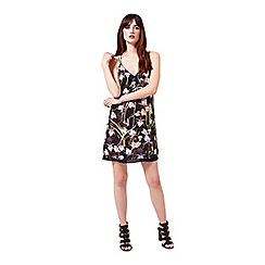 Miss Selfridge - Tropical print cami slip dress