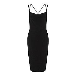 Miss Selfridge - Black slinky dress