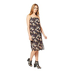 Miss Selfridge - Oriental print slip dress