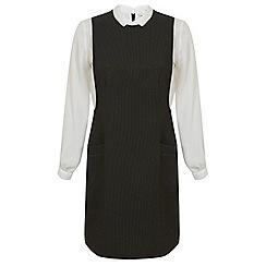 Miss Selfridge - 2 in 1 pinafore dress