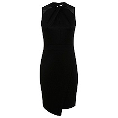 Miss Selfridge - Twist front scuba dress