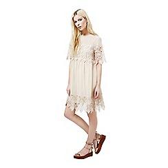 Miss Selfridge - Lace trim smock dress