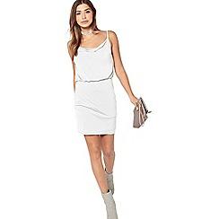 Miss Selfridge - Bluson slinky dress