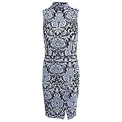 Miss Selfridge - Jacquard wrap dress