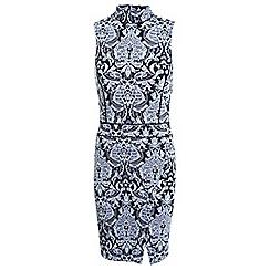 Miss Selfridge - Jacquard wrap dress