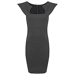 Miss Selfridge - Grey pencil dress