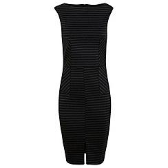 Miss Selfridge - Striped pencil dress