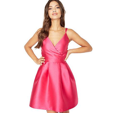 Miss Selfridge - Fuschia cami prom dress