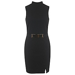 Miss Selfridge - Black wrap dress