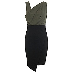 Miss Selfridge - Drape pencil dress