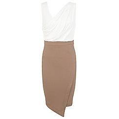 Miss Selfridge - Drape pencil dress