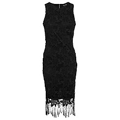 Miss Selfridge - Fringe lace dress