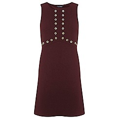 Miss Selfridge - Eyelet shift dress