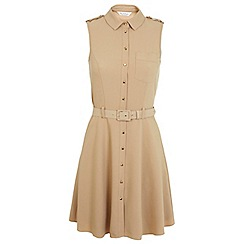 Miss Selfridge - Sleeveless belted dress
