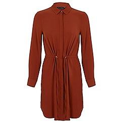 Miss Selfridge - Drawstring shirt dress