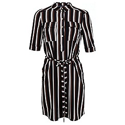 Miss Selfridge - Stripe shirt dress