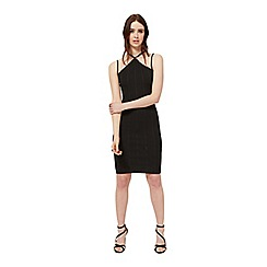 Miss Selfridge - Black multi strap dress