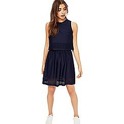 Miss Selfridge - Jersey laser cut dress