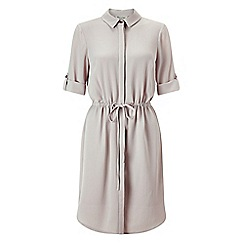 Miss Selfridge - Mink shirt dress