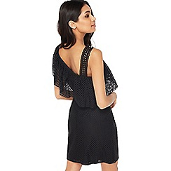 Miss Selfridge - Circle one shoulder dress