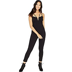 Miss Selfridge - Strap notch bengaline jumpsuit