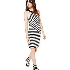 Miss Selfridge - Stripe bodycon dress