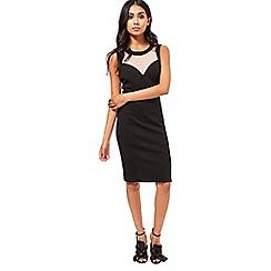 Miss Selfridge - Sporty mesh bodycon dress